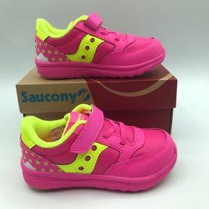 NWT Saucony Girls Jazz Lite Sneakers